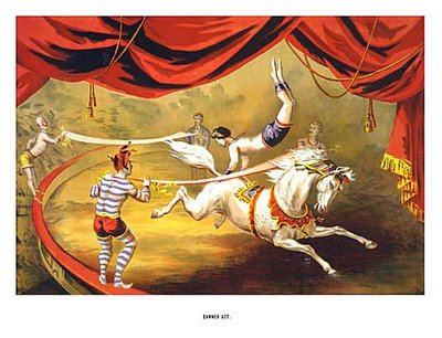 vintage+circus+poster_horse+acrobat_steve's+vintage+ads