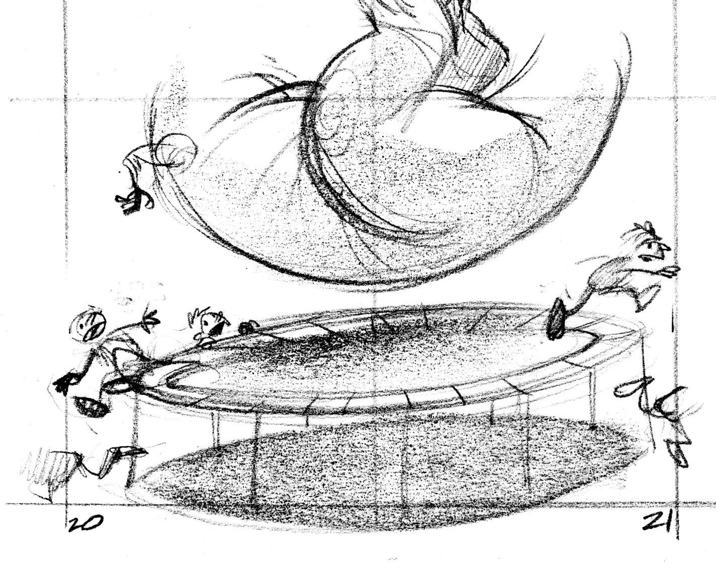 T Rex On A Trampoline John Manders Blog