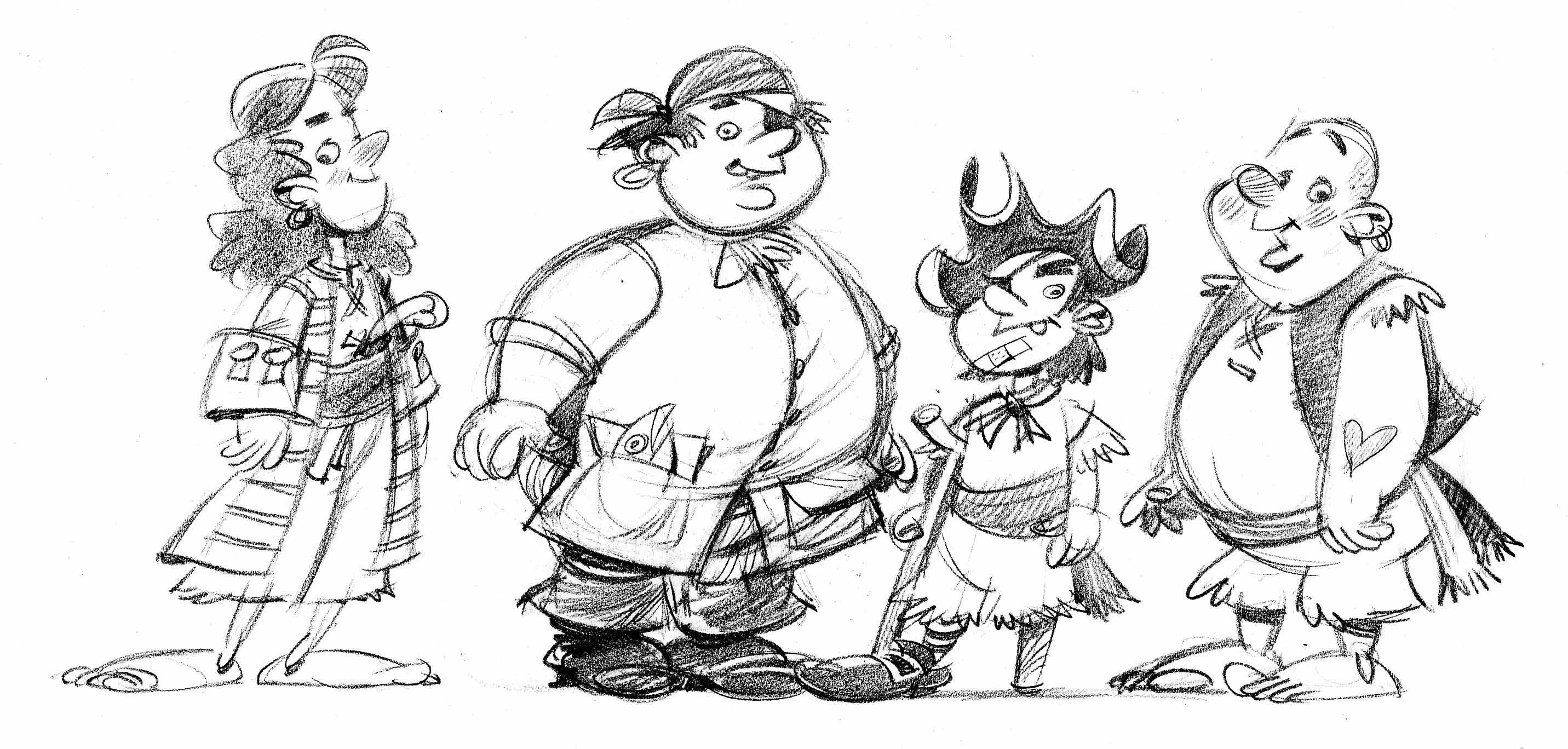 john manders pirate kids