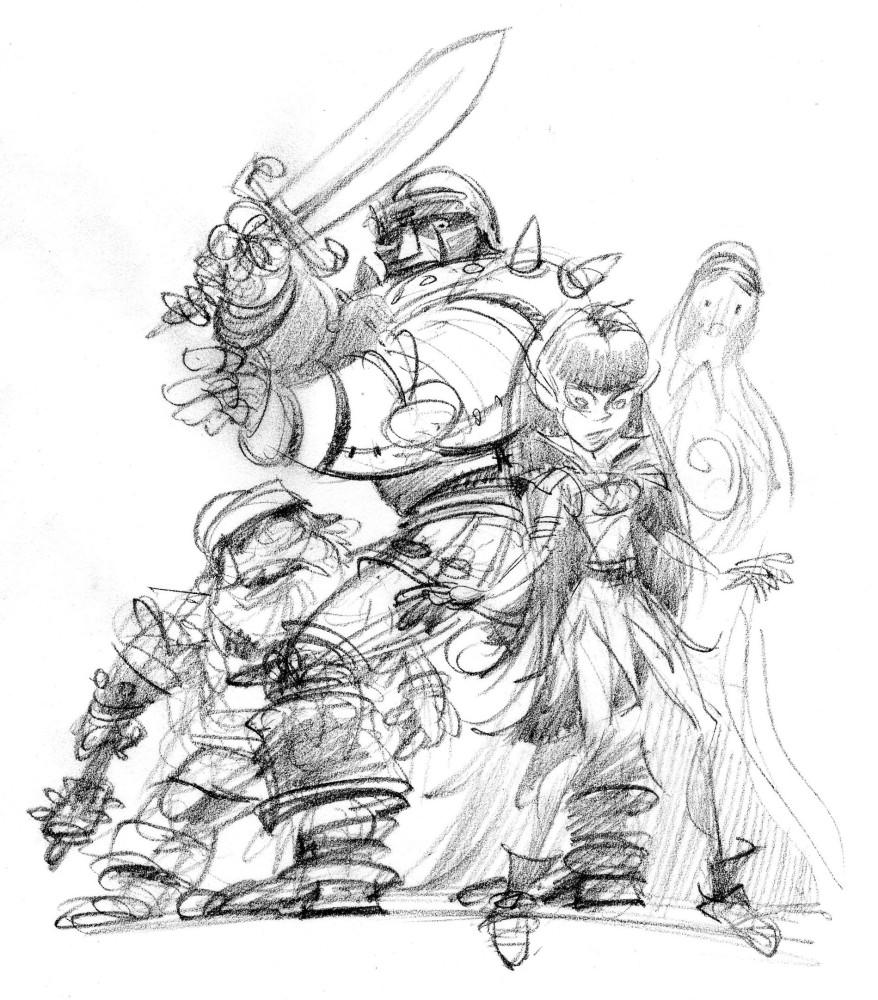 Escape from Netherworld—Twiggy the dwarf (2/6)