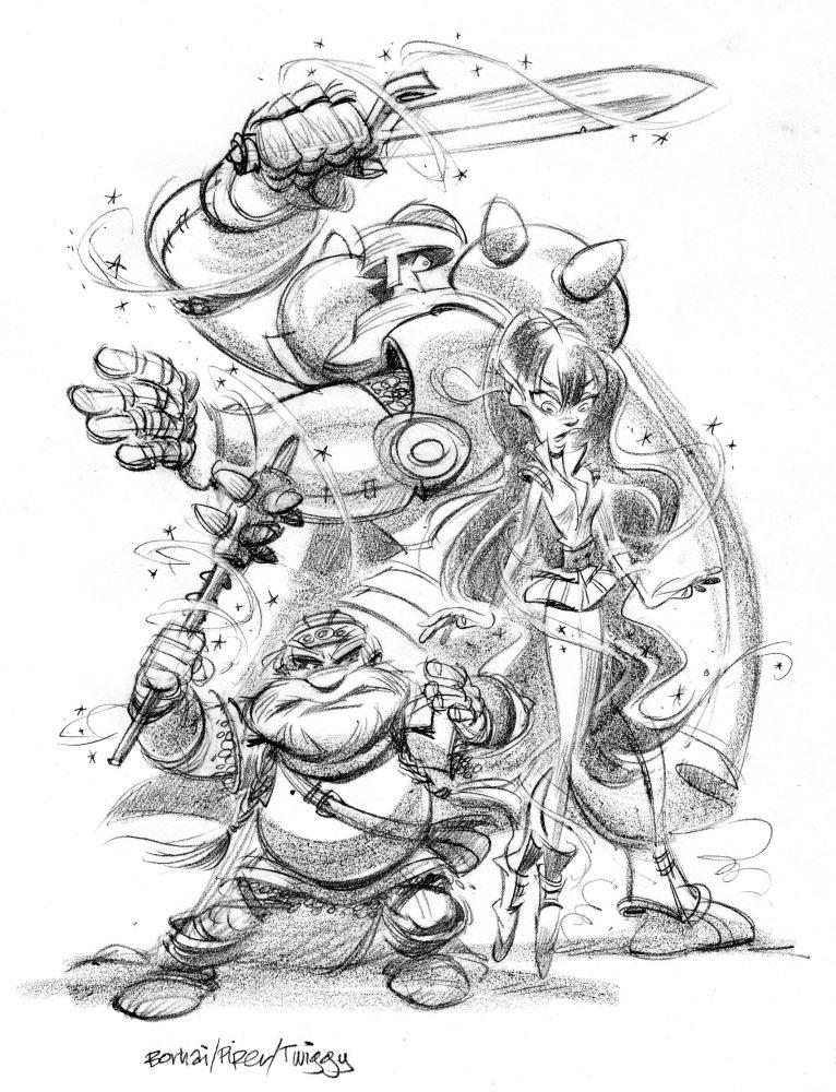 Escape from Netherworld—Twiggy the dwarf (3/6)
