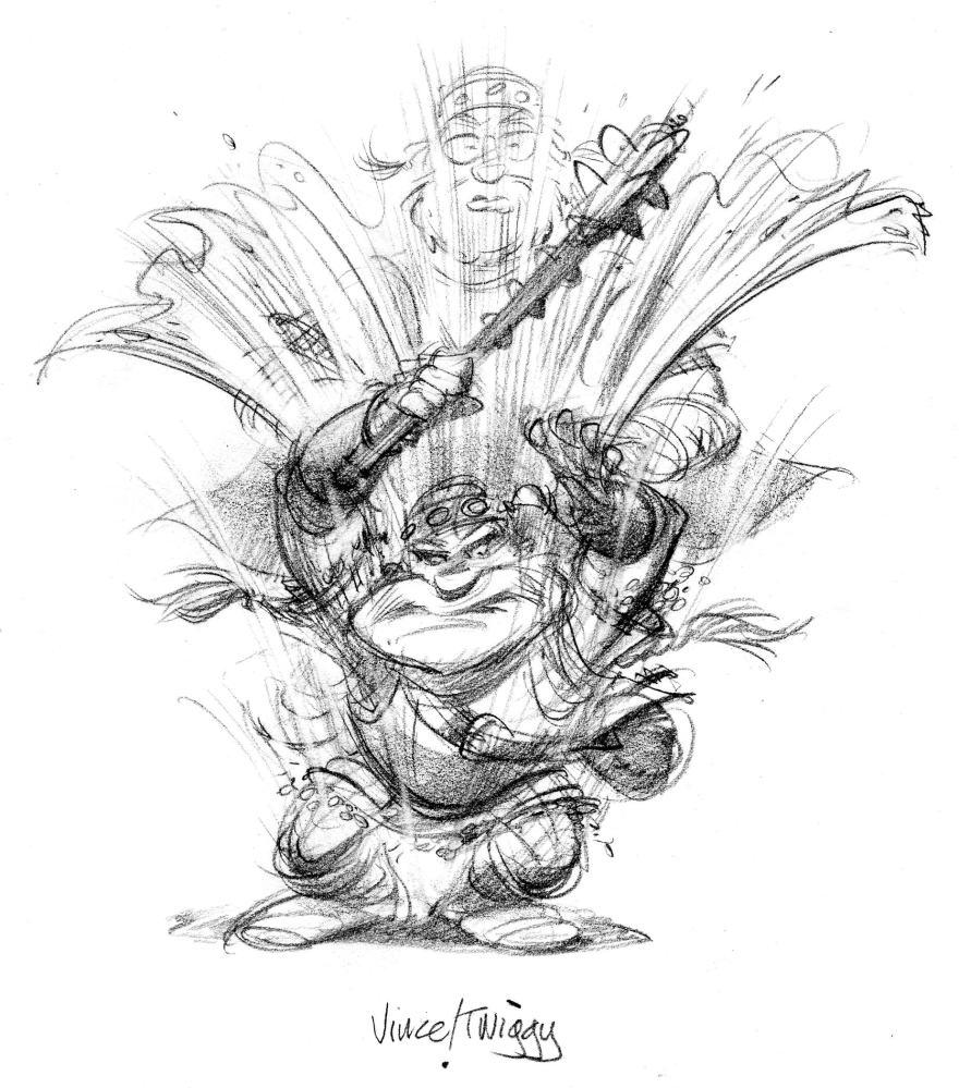 Escape from Netherworld—Twiggy the dwarf (5/6)
